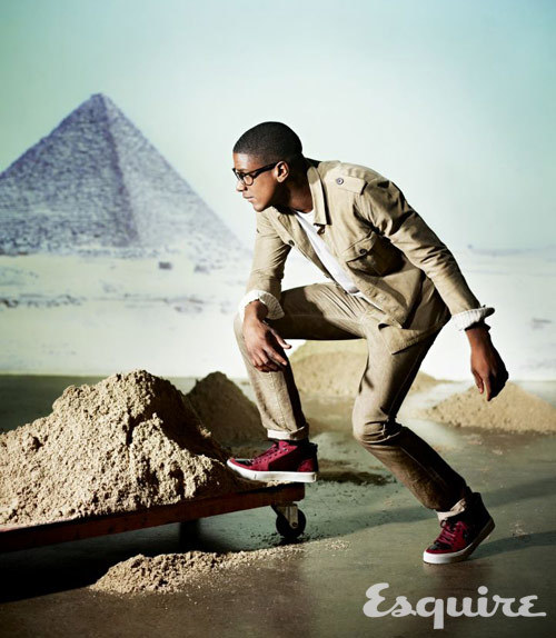 Musician Labrinth is wearing Safari