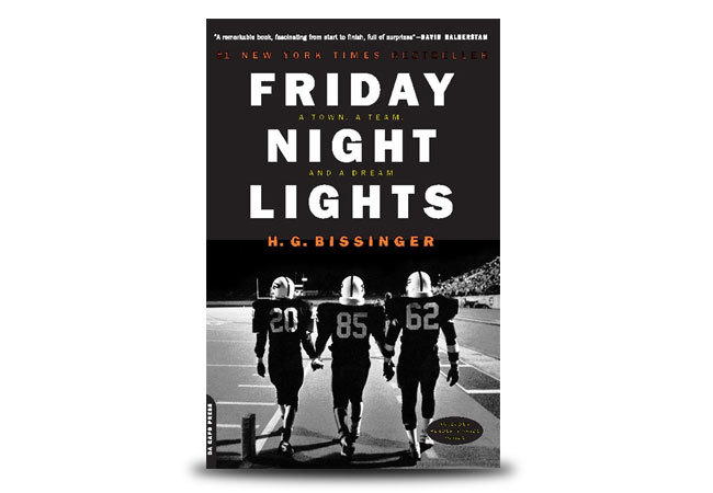 book report on friday night lights Based on hg bissinger's book,  friday night lights -  report this video url embed send to a friend send description based on hg bissinger's.