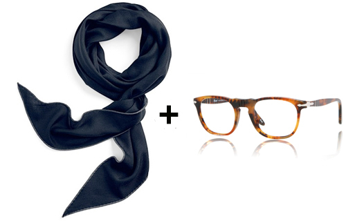 Depp Scarf and Glasses