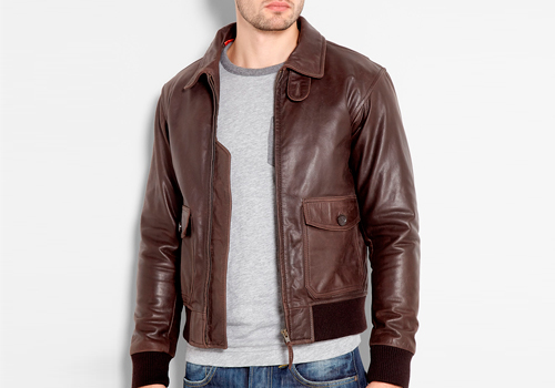 Three of the Best Leather Bomber Jackets