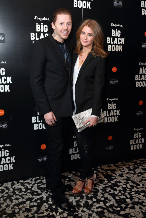 Esquire BBB Professor Green and Millie Mackintosh