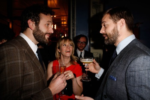 Chris O'Dowd, Edith Bowman and Patrick Grant