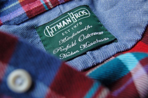Gitman_Bros_for_Penfield_-_Flitton_-_Label_Detail
