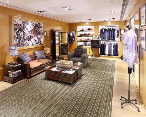 Dunhill Hong Kong interior