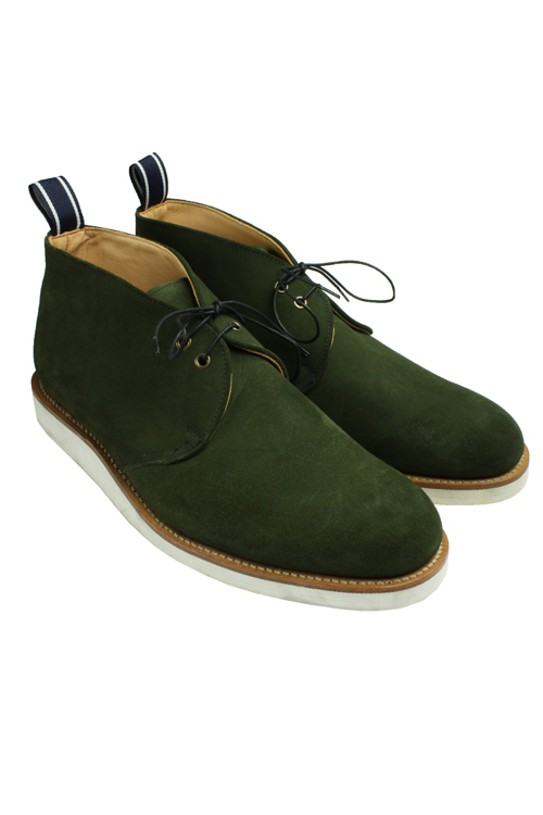 Press Shot - OSA161 Chukka Boot Green