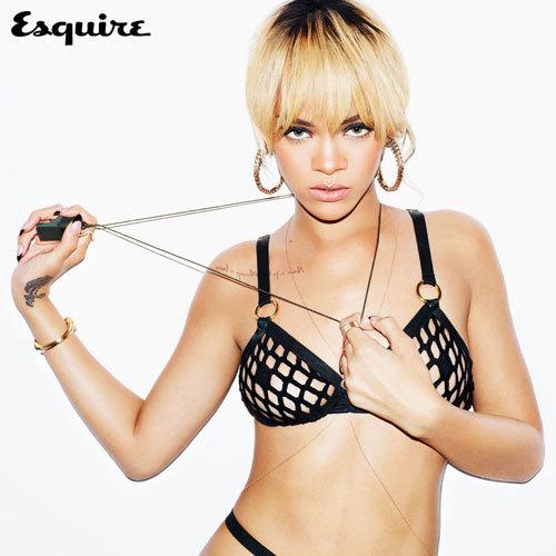 Rihanna Esquire 2012