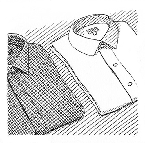 Wrinkle free shirts 3aw